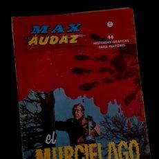 Cómics: MUY BUEN ESTADO MAX AUDAZ 4 GRAPA EDICIONES VERTICE. Lote 278327683