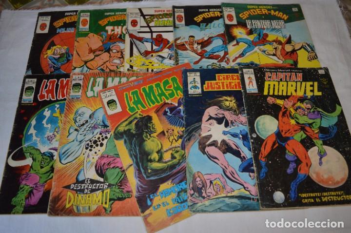 10 EJEMPLARES - VOLÚMENES / PERSONAJES VARIADOS / VERTICE - MUNDI COMICS - ¡MIRA FOTOS! -- LOTE 02 (Tebeos y Comics - Vértice - Surco / Mundi-Comic)