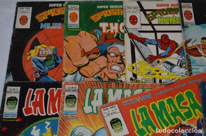 Cómics: 10 Ejemplares - Volúmenes / Personajes variados / VERTICE - MUNDI COMICS - ¡Mira fotos! -- Lote 02 - Foto 2 - 278359838