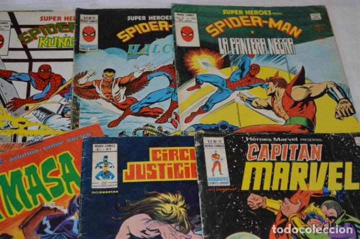 Cómics: 10 Ejemplares - Volúmenes / Personajes variados / VERTICE - MUNDI COMICS - ¡Mira fotos! -- Lote 02 - Foto 3 - 278359838