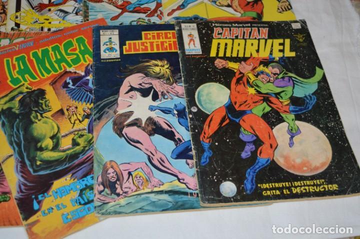 Cómics: 10 Ejemplares - Volúmenes / Personajes variados / VERTICE - MUNDI COMICS - ¡Mira fotos! -- Lote 02 - Foto 5 - 278359838