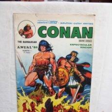 Cómics: CONAN ANUAL ´80 Nº 1 VERTICE. Lote 278408668