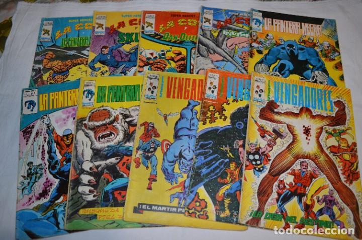 10 EJEMPLARES - VOLÚMENES / PERSONAJES VARIADOS / VERTICE - MUNDI COMICS - ¡MIRA FOTOS! -- LOTE 04 (Tebeos y Comics - Vértice - Surco / Mundi-Comic)