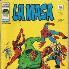 Cómics: LA MASA V3 - Nº 24 CUANDO LOS MONSTRUOS SE UNEN. VÉRTICE - 1975. Lote 278495108