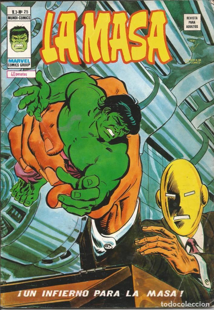 LA MASA V3 - Nº 25 UN INFIERNO PARA LA MASA. VÉRTICE - 1975 (Tebeos y Comics - Vértice - La Masa)