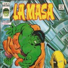 Cómics: LA MASA V3 - Nº 25 UN INFIERNO PARA LA MASA. VÉRTICE - 1975. Lote 278495598