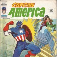 Cómics: CAPITÁN AMÉRICA V3 Nº 11 EL HOMBRE BESTIA. VÉRTICE 1974. Lote 278496203