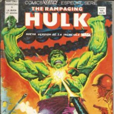 Cómics: THE RAMPAGING HULK - ESPECIAL Nº 1 - LA CONSPIRACIÓN CRILORIANA - MUNDI COMICS - VERTICE - AÑO 1979. Lote 278497158