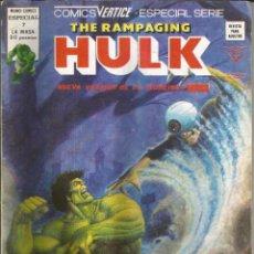 Cómics: THE RAMPAGING HULK - ESPECIAL Nº 7 LA NOCHE DEL ESPECTRO - MUNDI COMICS - VERTICE - AÑO 1979. Lote 278497598