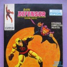 Cómics: DAN DEFENSOR Nº 9 VERTICE TACO ¡¡¡¡ MUY BUEN ESTADO !!!!!. Lote 278504093