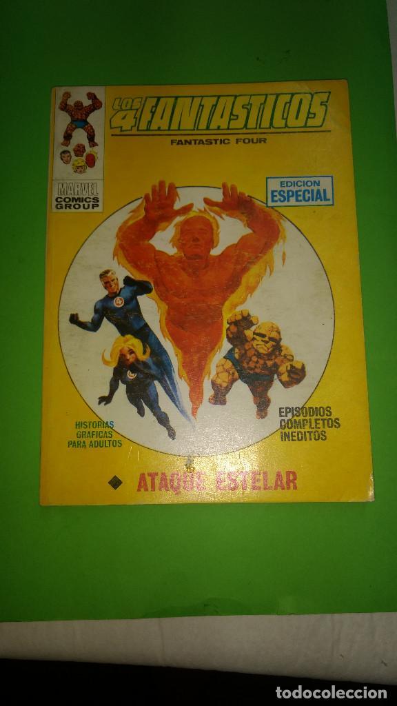 LOS 4 FANTASTICOS VOL.1 Nº 19 VÉRTICE AÑO 70 BUEN ESTADO 1º EDICION DE 25 PTAS (Tebeos y Comics - Vértice - V.1)