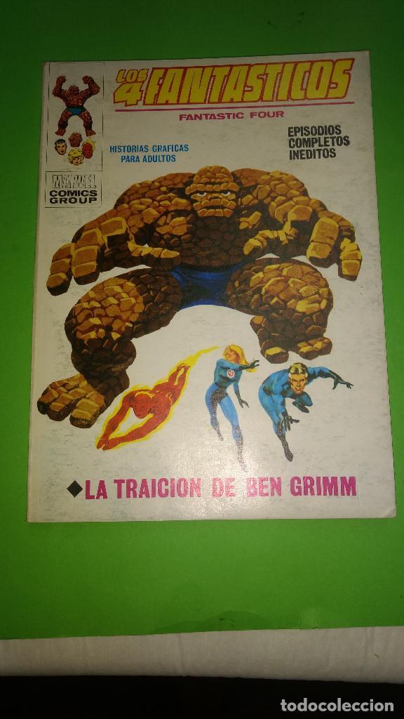 LOS 4 FANTASTICOS VOL.1 Nº 34 VÉRTICE AÑO 70 BUEN ESTADO 1º EDICION DE 25 PTAS (Tebeos y Comics - Vértice - V.1)