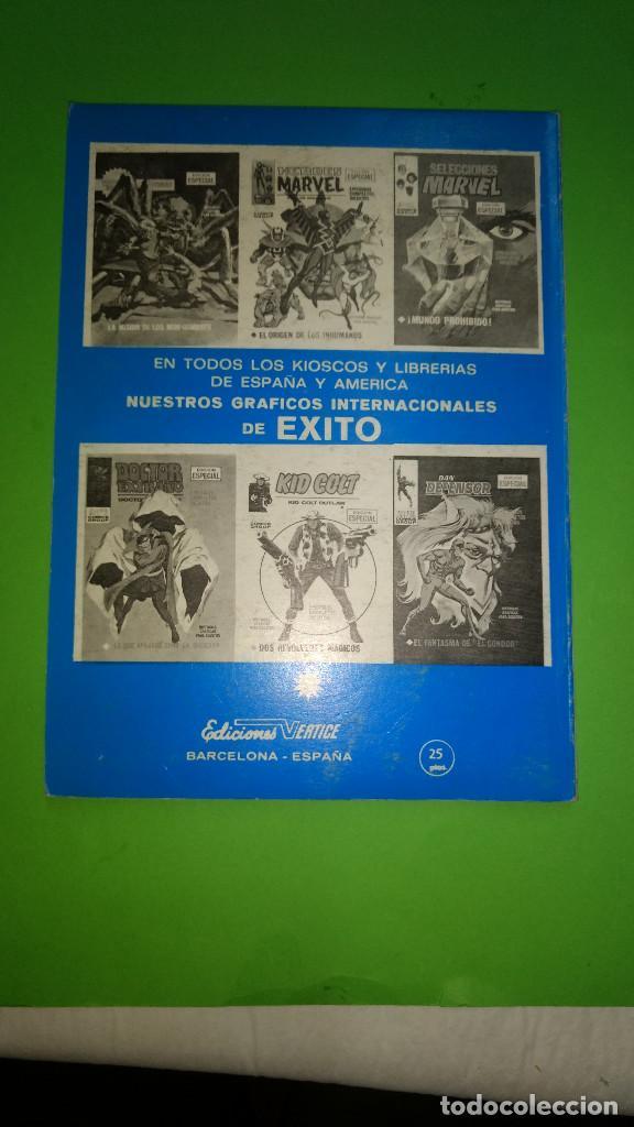 Cómics: LOS 4 FANTASTICOS VOL.1 Nº 34 VÉRTICE año 70 buen estado 1º edicion de 25 ptas - Foto 2 - 278531223