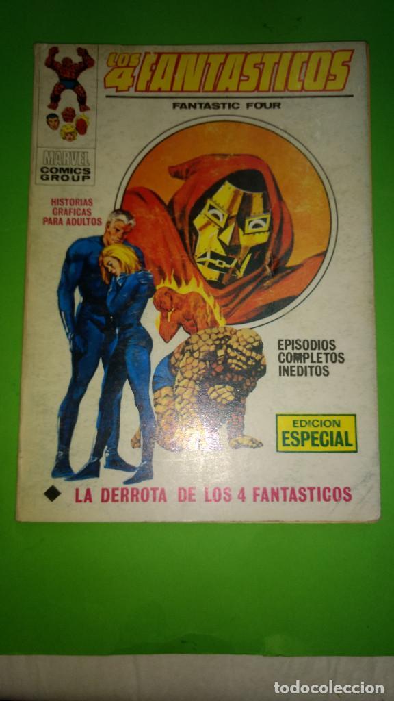 LOS 4 FANTASTICOS VOL.1 Nº 28 VÉRTICE AÑO 70 BUEN ESTADO 1º EDICION DE 25 PTAS (Tebeos y Comics - Vértice - V.1)