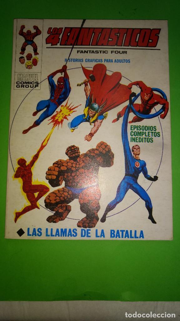 LOS 4 FANTASTICOS VOL.1 Nº 36 VÉRTICE AÑO 70 BUEN ESTADO 1º EDICION DE 25 PTAS (Tebeos y Comics - Vértice - V.1)