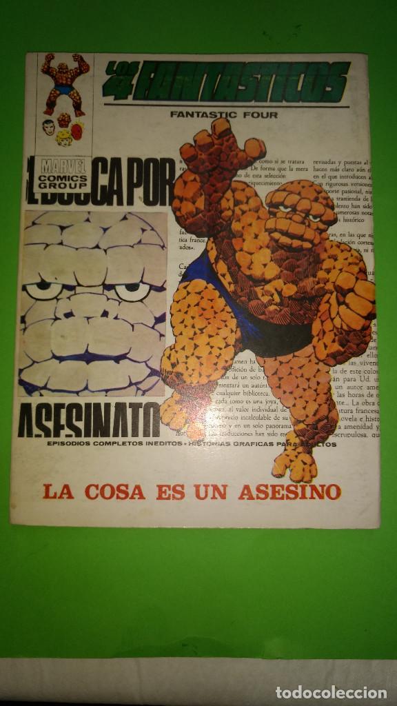 LOS 4 FANTASTICOS VOL.1 Nº 46 VÉRTICE AÑO 70 BUEN ESTADO 1º EDICION DE 25 PTAS (Tebeos y Comics - Vértice - V.1)