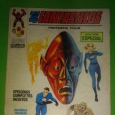 Cómics: LOS 4 FANTASTICOS VOL.1 Nº 6 VÉRTICE AÑO 70 1º EDICION DE 25 PTAS. Lote 278532163