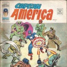 Cómics: CAPITÁN AMÉRICA V3 Nº 3 ESCLAVO DE LOS SKULL. VÉRTICE 1974. Lote 278546583