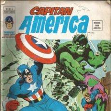 Cómics: CAPITÁN AMÉRICA V3 Nº 6 ESTA NOCHE MORIRÉ. VÉRTICE 1974. Lote 278546613