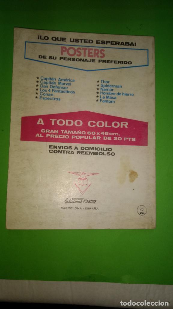 Cómics: EL HOMBRE DE HIERRO VOL.1 Nº 26 VÉRTICE año 70 1º edicion de 25 ptas - Foto 2 - 278564358