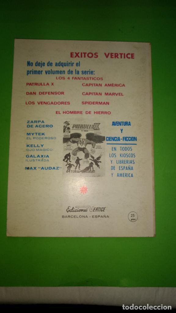 Cómics: CAPITAN AMERICA VOL.1 Nº 8 VÉRTICE año 70 BUENA CONSERVACION 1º edicion de 25 ptas - Foto 2 - 278565428