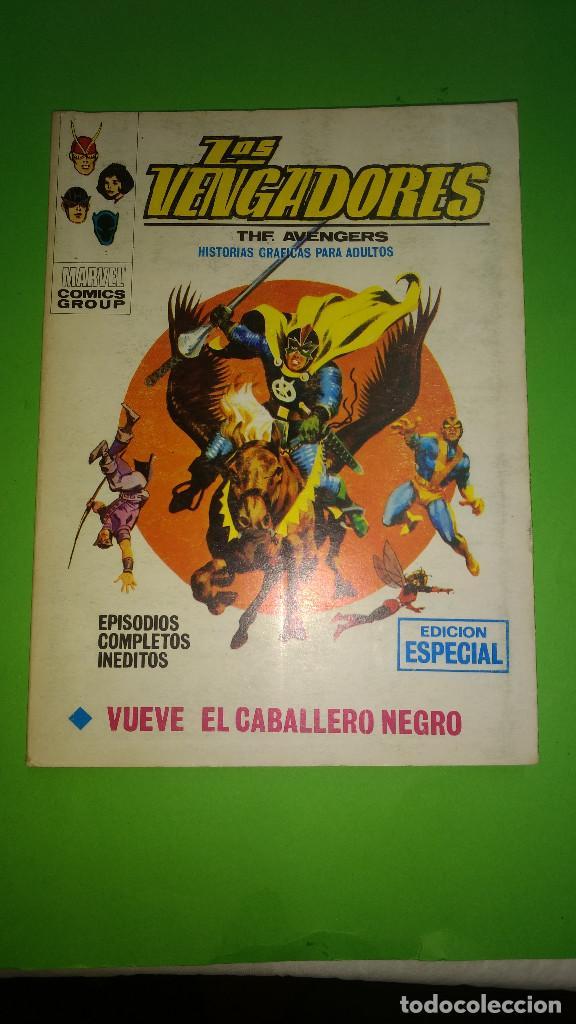 LOS VENGADORES VOL.1 Nº 21 VÉRTICE AÑO 70 BUENA CONSERVACION 1º EDICION DE 25 PTAS (Tebeos y Comics - Vértice - V.1)
