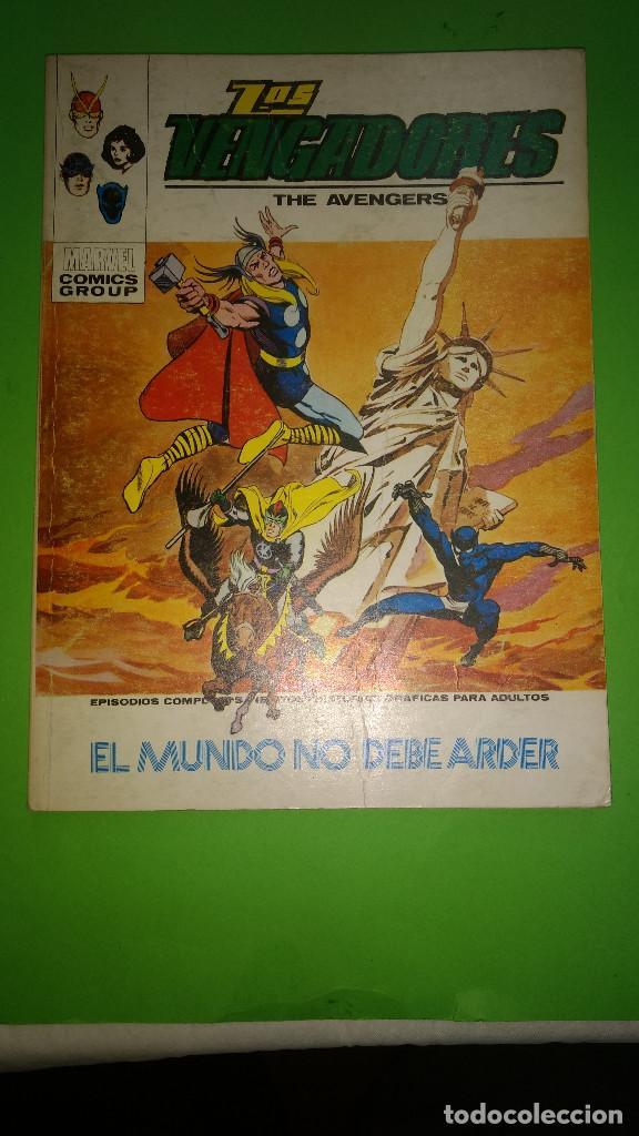 LOS VENGADORES VOL.1 Nº 39 VÉRTICE AÑO 70 BIEN CONSERVADO 1º EDICION DE 25 PTAS (Tebeos y Comics - Vértice - V.1)