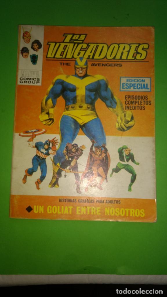 LOS VENGADORES VOL.1 Nº 12 VÉRTICE AÑO 70 BIEN CONSERVADO 1º EDICION DE 25 PTAS (Tebeos y Comics - Vértice - V.1)