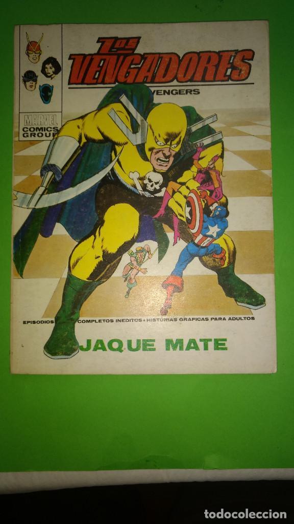 LOS VENGADORES VOL.1 Nº 50 VÉRTICE AÑO 70 BIEN CONSERVADO 1º EDICION DE 30 PTAS (Tebeos y Comics - Vértice - V.1)