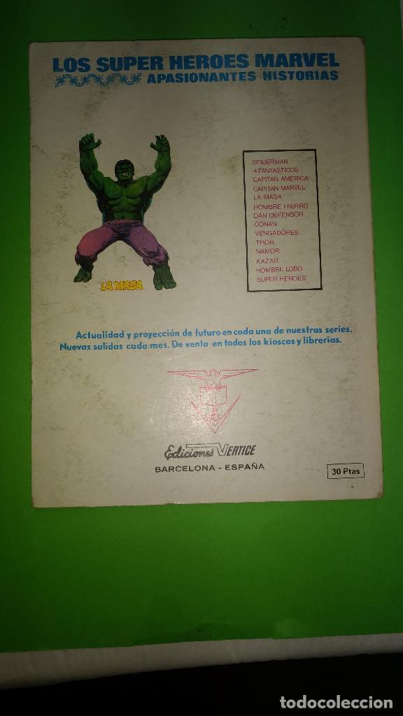 Cómics: LOS VENGADORES VOL.1 Nº 50 VÉRTICE año 70 BIEN CONSERVADO 1º edicion de 30 ptas - Foto 2 - 278567608