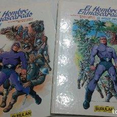 Cómics: EL HOMBRE ENMASCARADO - Nº 2 - INVASION Y Nº3 EL HEROE DE OLAN - BURULAN --NUEVOS. Lote 278698283