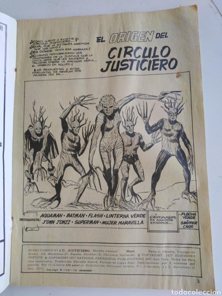 Cómics: Cómic círculo justiciero, el origen del círculo justiciero - Foto 4 - 278767628