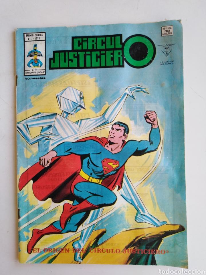 CÓMIC CÍRCULO JUSTICIERO, EL ORIGEN DEL CÍRCULO JUSTICIERO (Tebeos y Comics - Vértice - Surco / Mundi-Comic)