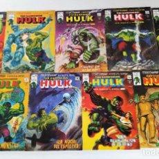 Cómics: THE RAMPAGING HULK # 1-9 (ETAPA B/N) ~ MARVEL/VÉRTICE (1978) **EXCELENTE ESTADO, COMO NUEVOS**. Lote 279445968