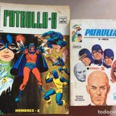Cómics: PATRULLA X LOTE NÚMEROS VOLUMEN 1Y 3. Lote 279455478