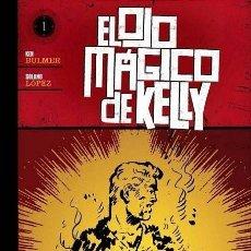 Comics : EL OJO MAGICO DE KELLY. KELLY OJO MAGICO. COLECC. COMPLETA: 5 TOMOS TAPA DURA. SOLANO LOPEZ. PLANETA. Lote 280218983