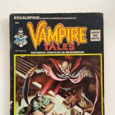 Cómics: ESCALOFRÍO VAMPIRE TALES NÚMERO 5. Lote 280681038