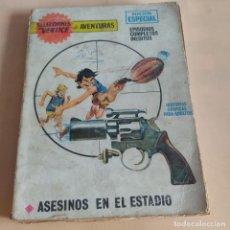 Cómics: ASESINOS EN EL ESTADIO. LOS HERMANOS WILD. TRADUCCION F. SEBEN. EDICIONES VERTICE. 1970. PAGS. 128.. Lote 280876478