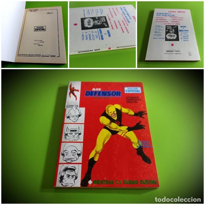 DAN DEFENSOR Nº 5 VOL 1 TACO VERTICE-IMPECABLE ESTADO -NO LEIDO (Tebeos y Comics - Vértice - Dan Defensor)