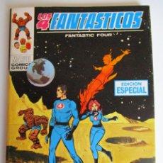 Cómics: 4 FANTASTICOS, LOS (1969, VERTICE) -V.1- 7 · X-1969 · MISTERIO EN LA LUNA. Lote 283160608