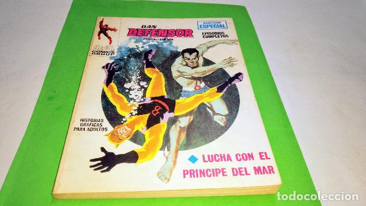 VÉRTICE VOL 1 DAN DEFENSOR Nº 4 TACO 25 PTS 1971 (Tebeos y Comics - Vértice - V.1)