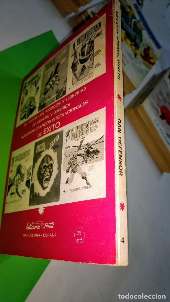 Cómics: VÉRTICE VOL 1 DAN DEFENSOR Nº 4 TACO 25 PTS 1971 - Foto 2 - 283163528