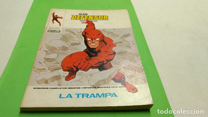 VÉRTICE VOL 1 DAN DEFENSOR Nº 43 TACO 30 PTS 1973 (Tebeos y Comics - Vértice - V.1)