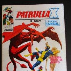 Cómics: PATRULLA X (1969, VERTICE) 28 · X-1971 · LOS MONSTRUOS TAMBIÉN LLORAN. Lote 283220883
