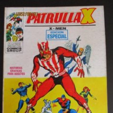 Cómics: PATRULLA X (1969, VERTICE) 29 · XI-1971 · GUERRA EN EL MUNDO INFERIOR. Lote 283221343