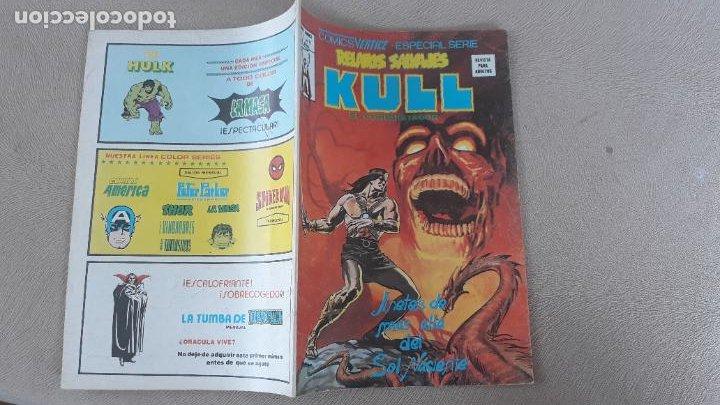RELATOS SALVAJES VERTICE Nº 71 KULL (Tebeos y Comics - Vértice - Relatos Salvajes)