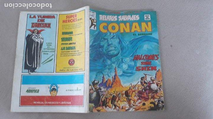 RELATOS SALVAJES VERTICE Nº 76 CONAN (Tebeos y Comics - Vértice - Relatos Salvajes)