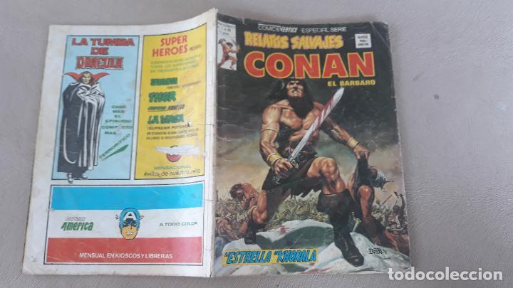 RELATOS SALVAJES VERTICE Nº 80 CONAN (Tebeos y Comics - Vértice - Relatos Salvajes)