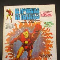 Cómics: IRON MAN (1969, VERTICE) -EL HOMBRE DE HIERRO- 11 · V-1970 · EL INCENDIARIO. Lote 283254708