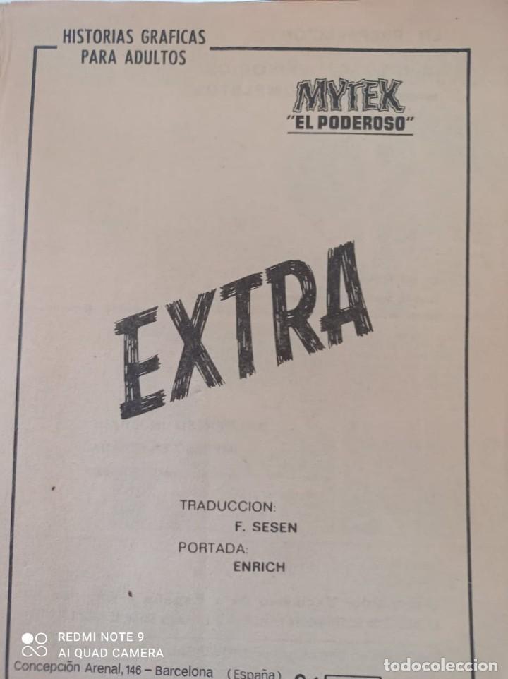 Cómics: MYTEX EL PODEROSO EDIC.VERTICE 1969 N°1 - Foto 3 - 283306358